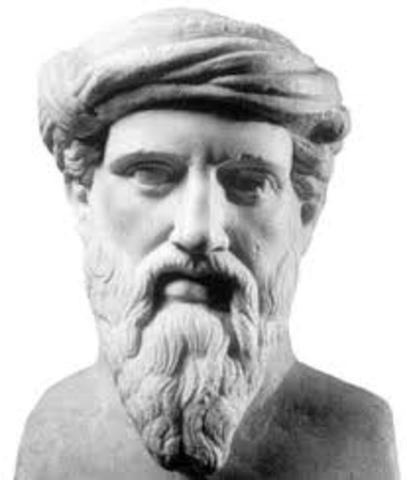 500 A.C: Pitágoras