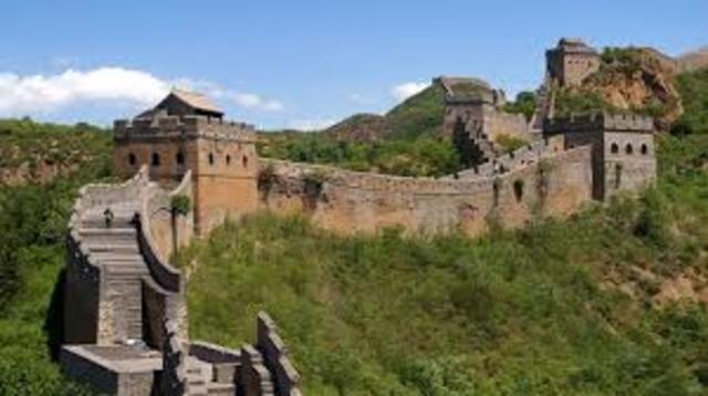 221 A.C: La Gran Muralla China