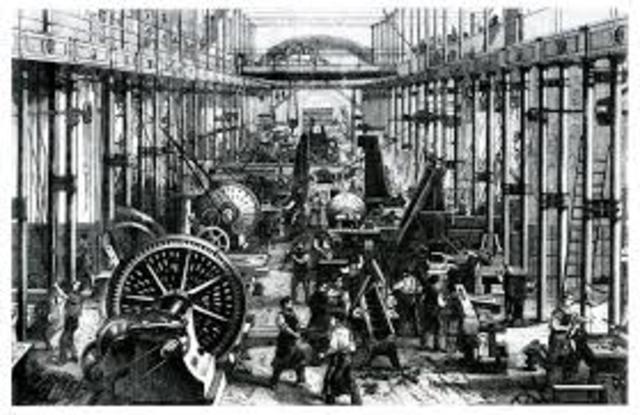 1.760: Primera Revolución Industrial