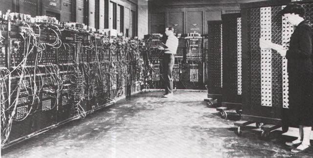 Primeras Computadoras - ENIAC