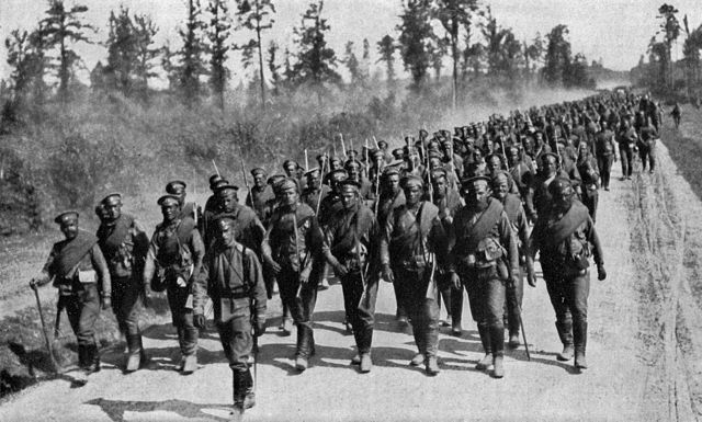 La invasión a Bélgica