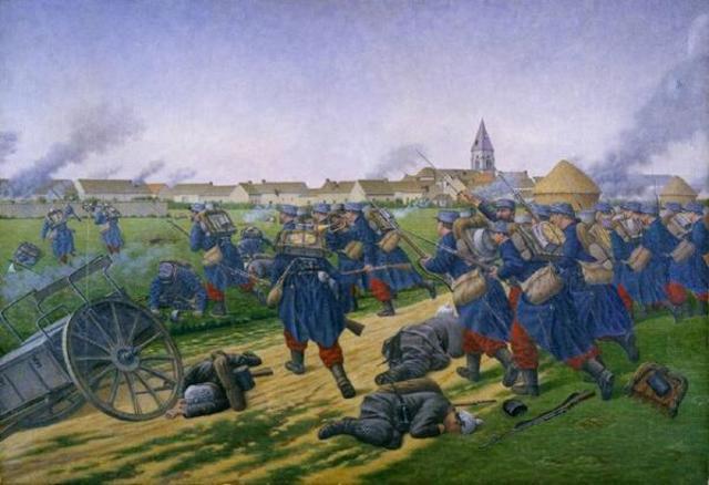 La batalla de Marne