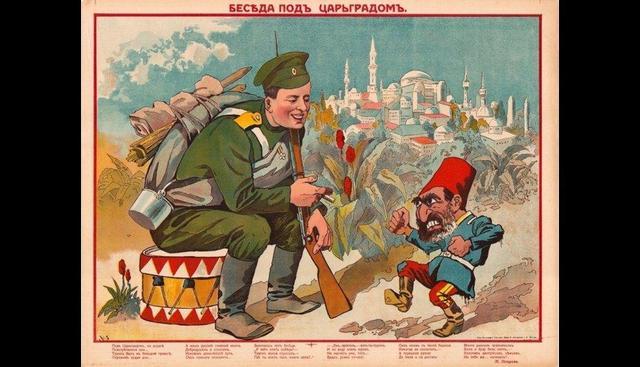 Ataque turco a Rusia