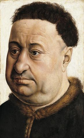 Retrato de un hombre robusto
