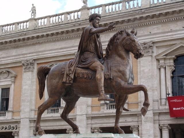 Retrato ecuestre de Marco Aurelio