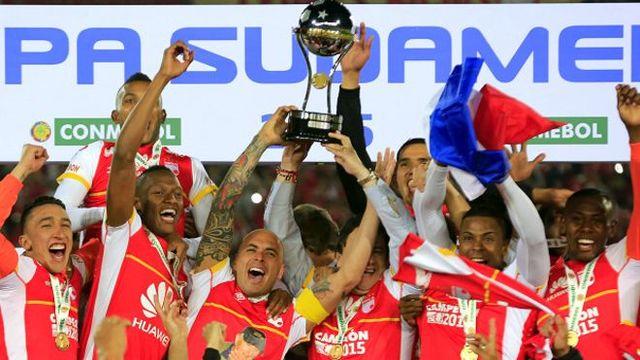 Santa Fe Campeón de la sudamericana