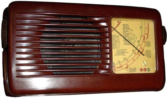 Comercialización de radios portátiles.