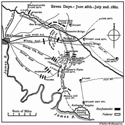 The Seven Days Battles