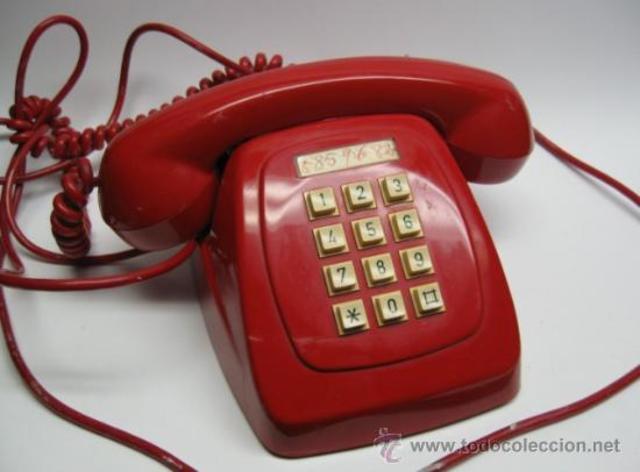 teléfonos de marcación por tonos