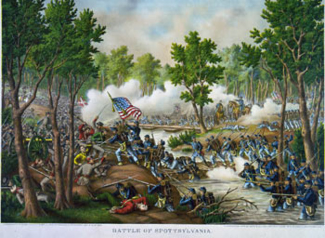 The Battle of Spotsylvania