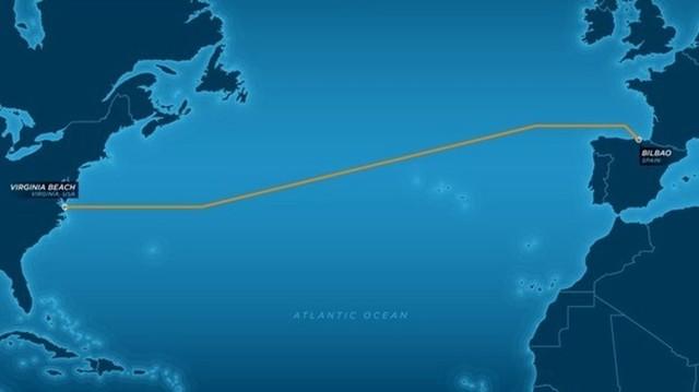 Primer cable telefónico transoceánico