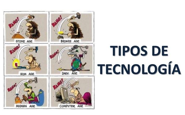 TIPOS DE TECNOLOGIAS