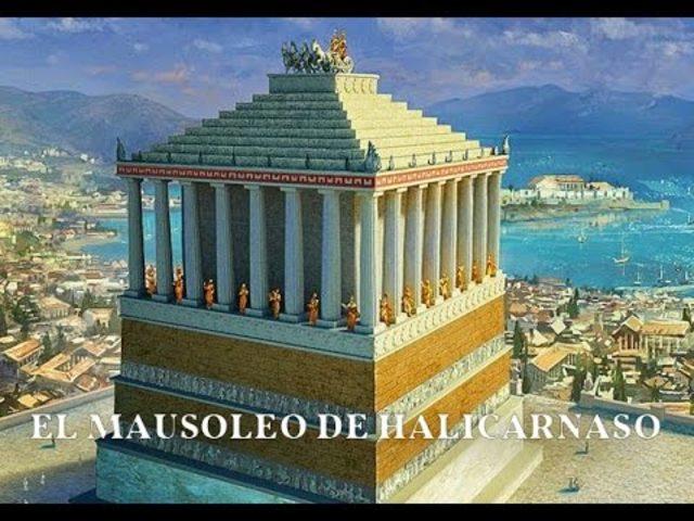 MAUSULEO DE HALICARNASO