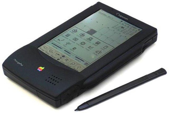 PDA con una pantalla sensible al tacto