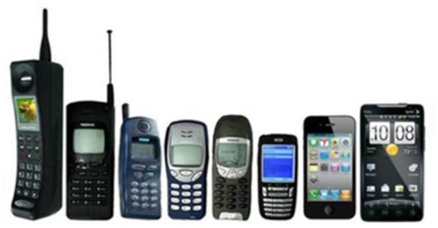 Primera generacion de dispositivos moviles