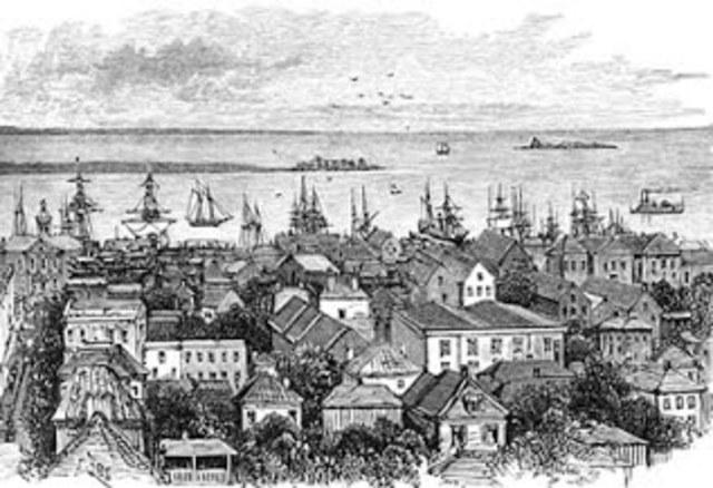 The creation of Rhode island