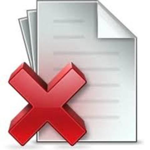 Inglaterra: Destrucción documentos