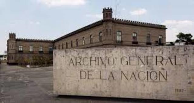 Mexico: Archivo General de la Nación