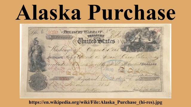 Alaska's Purchase