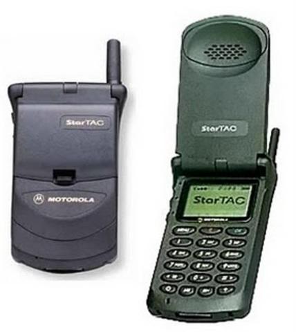 "Motorola StarTAC ""First Flip-phone"""