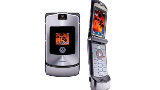 The Motorola RAZR!