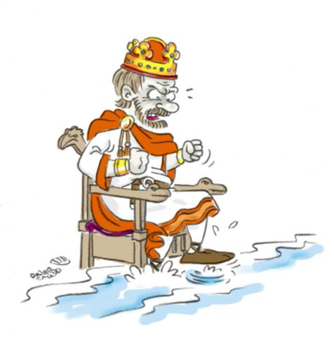 Knud den store bliver konge af Danmark