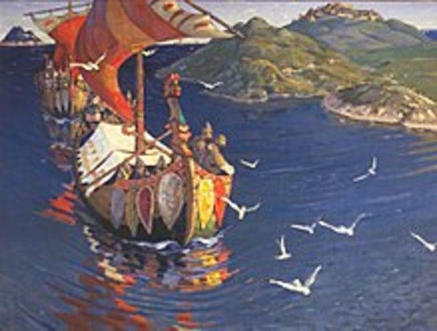 Vilhem d. 1 bliver konge af England og vikingetiden slutter