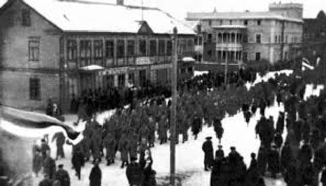 Eesti Iseseisvusmanifesti ettelugemine