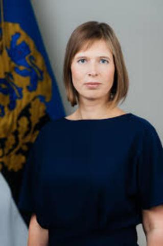 Presitent Kersti Kaljulaid