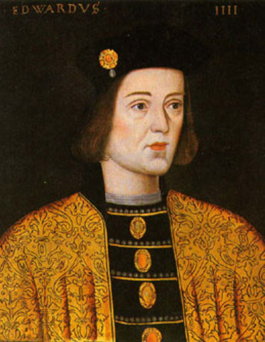 King Edward IV died. Heirs Edward (12) & Richard (9)