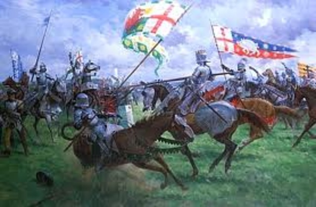 Battle of Bosworth Hill. Richard III was killed, Henry Tudor was crowned Henry VII