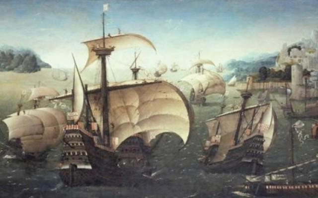 Portuguese arrived in Asia