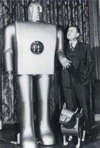 ELEKTRO PRIMER ROBOT HUMANOIDE (SÍMBOLO DEL PROGRESO)