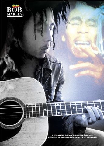 To bob marley it was interested for the music