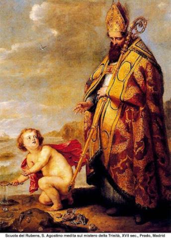 Encuentro de San Agustín con una divinidad