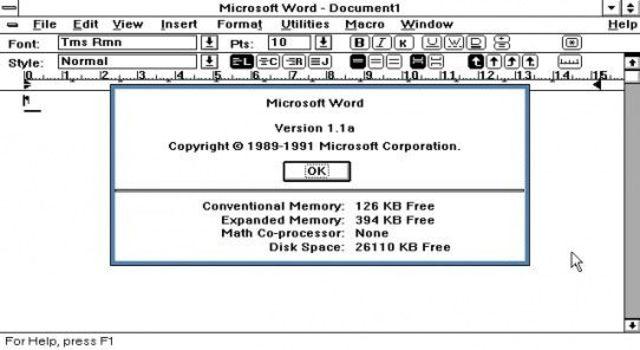 Procesador de textos de Windows