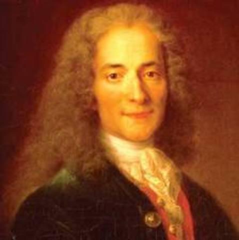 François-Marie Arouet ~ Voltaire