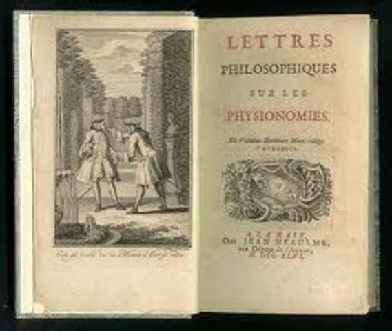 Voltaire udgiver Lettres Philosophiques