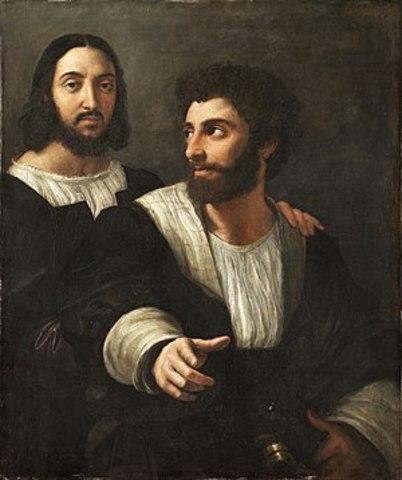 Self-Portrait with a Friend (Raphael)