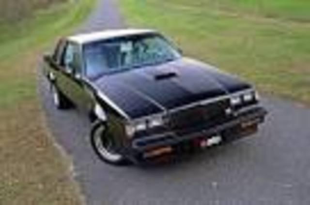 transportation/ buick gnx