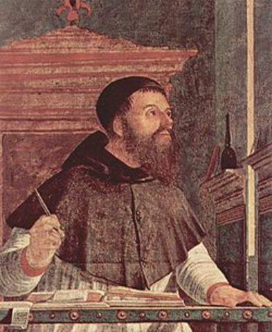 San Agustín Se consagró al estudio formal y metódico de las ideas del cristianismo