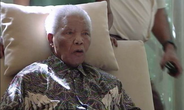 Mandela is hospitalized almost three weeks for a lung infection, and for gallstones.