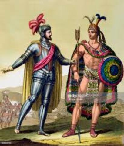 Spain took over the Aztecs