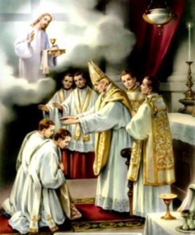 San Agustín es ordenado sacerdote en Hipona