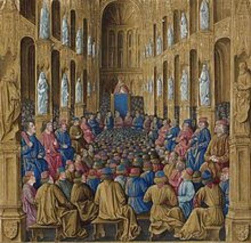 Participó en los Concilios III de Cartago y del lV  de Cartago
