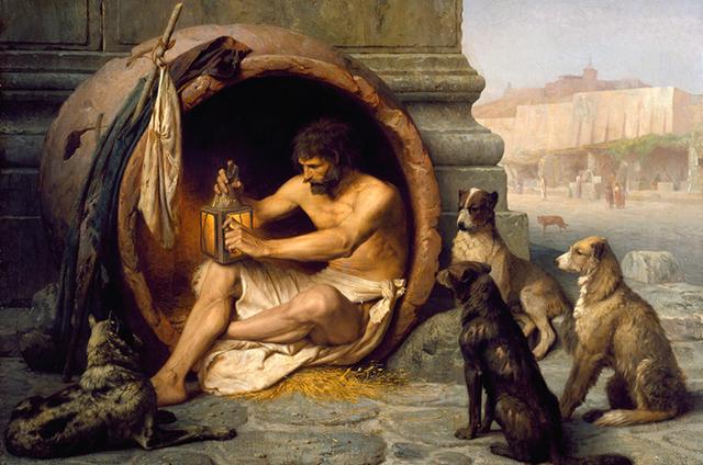 Diógenes de Sínope(-400 al -323)