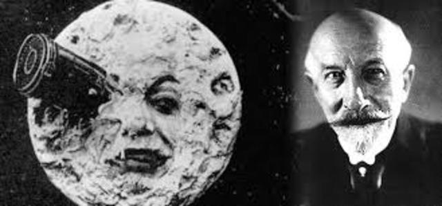 George Méliès (mago del cine) Película Viaje a la luna