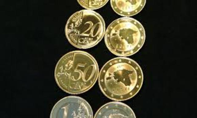 Eestis tulid kasutusele eurod