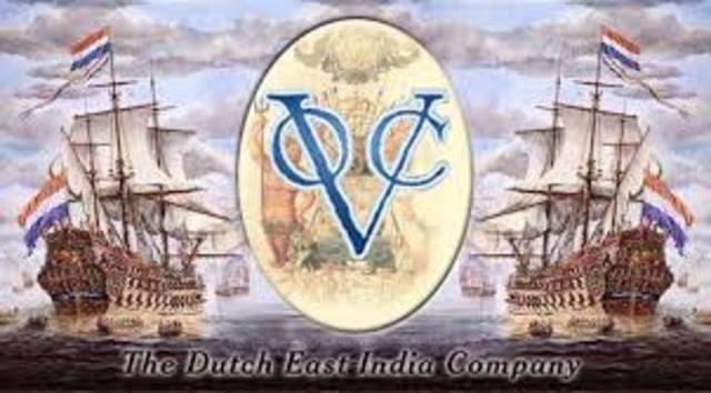 Dutch merchants formed the Dutch East India Company.