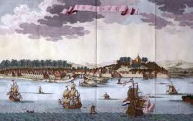 Portuguese an opened trade with China.